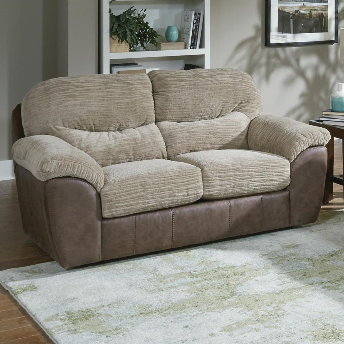 McMahon Gliding Loveseat by Jackson Furniture at Northeast Factory Direct