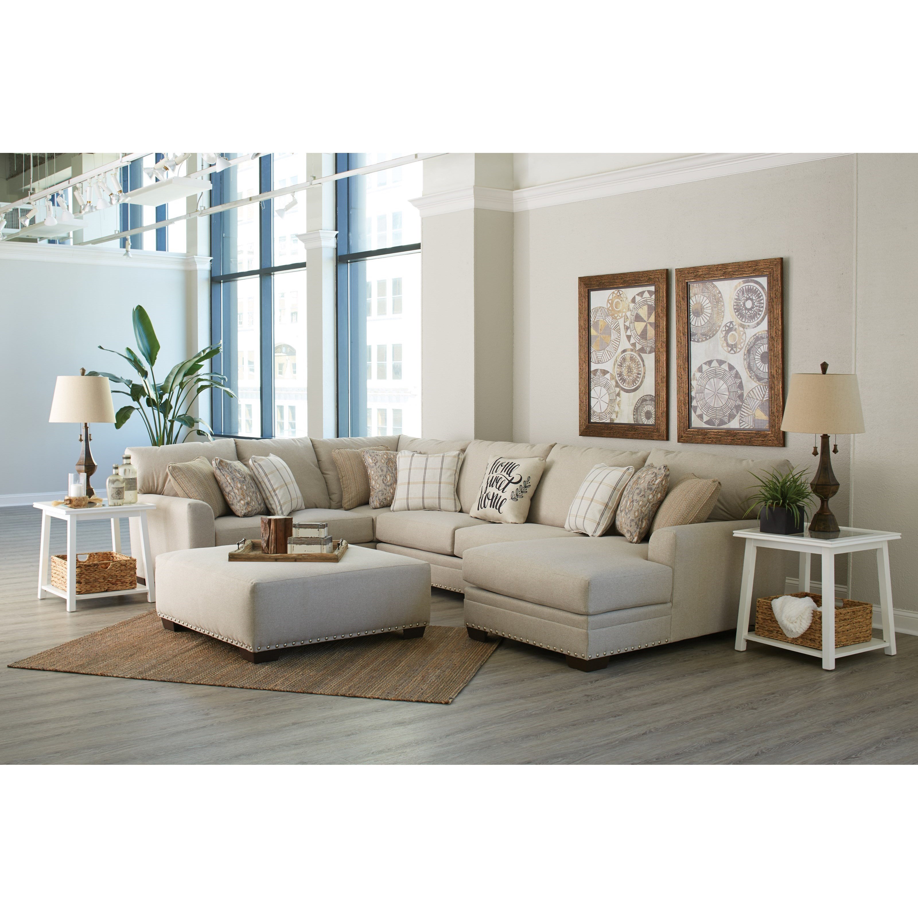 Middleton Living Room Group by Jackson Furniture at Lindy's Furniture Company