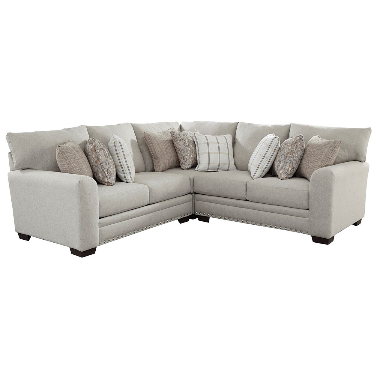 Middleton 2-Piece Sectional by Jackson Furniture at Johnny Janosik