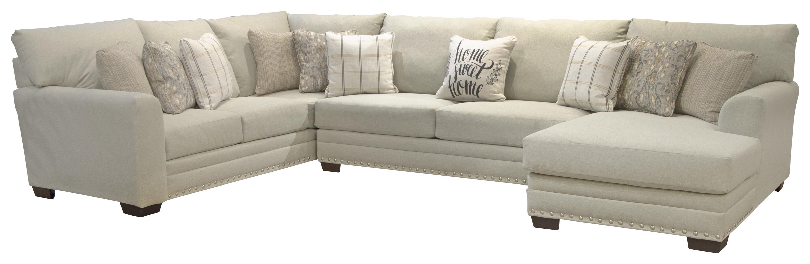 Middleton 3-Piece Sectional w/ Chaise by Jackson Furniture at Z & R Furniture