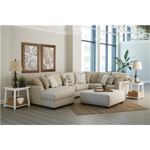 3 Piece Left Side Chaise Sectional