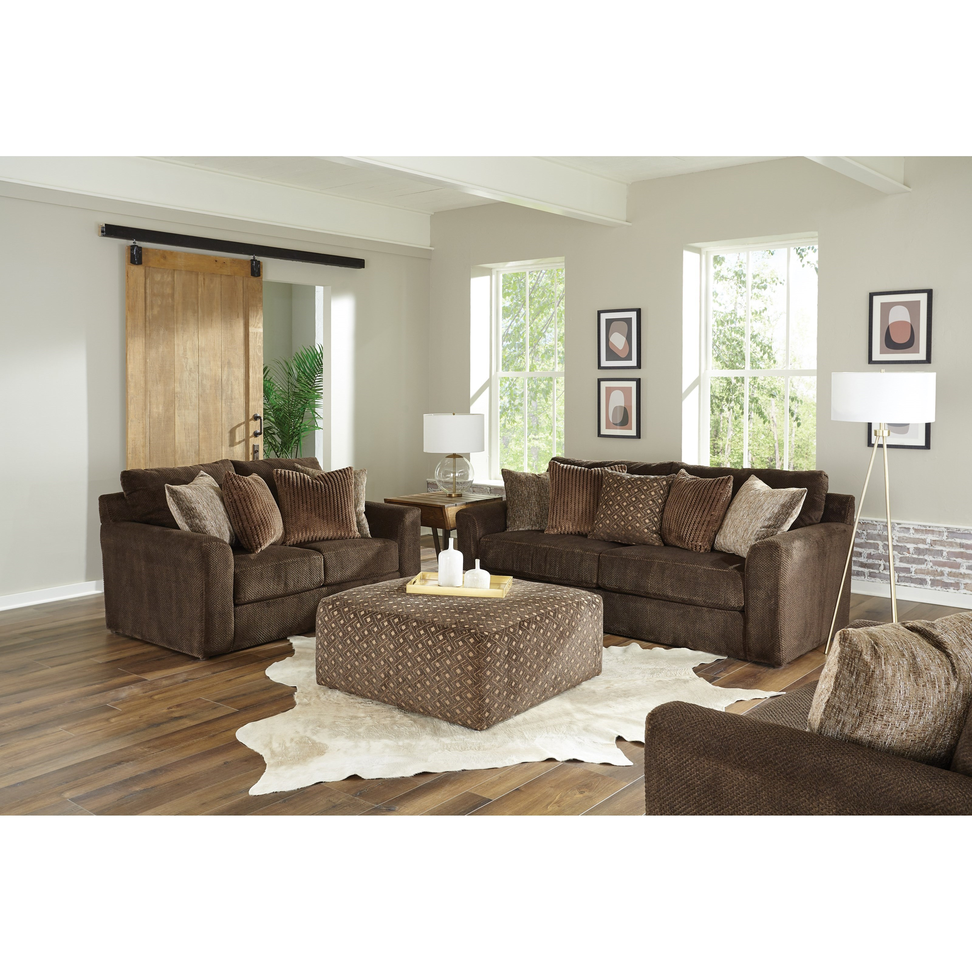 Midwood Living Room Group by Jackson Furniture at Johnny Janosik