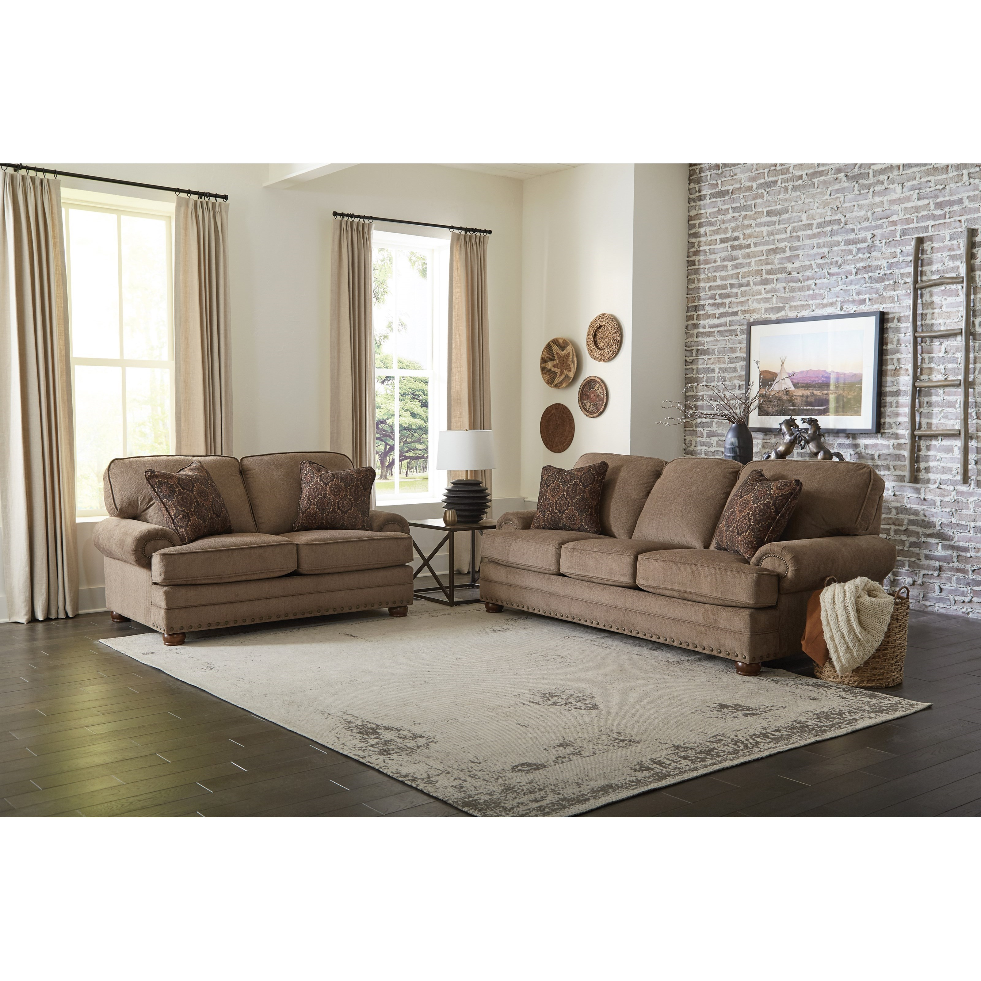 Singletary Living Room Group by Jackson Furniture at Lapeer Furniture & Mattress Center