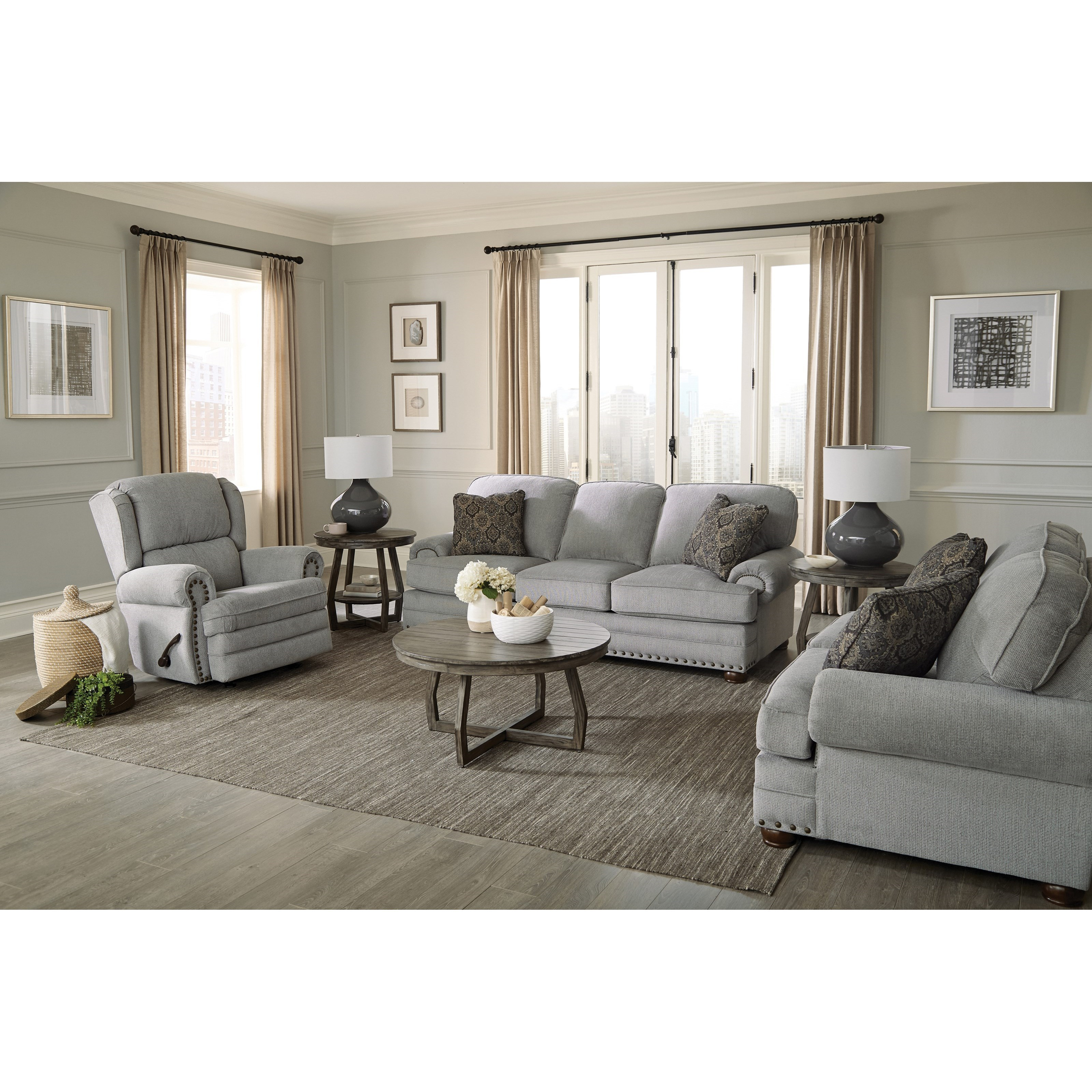Singletary Living Room Group by Jackson Furniture at Virginia Furniture Market