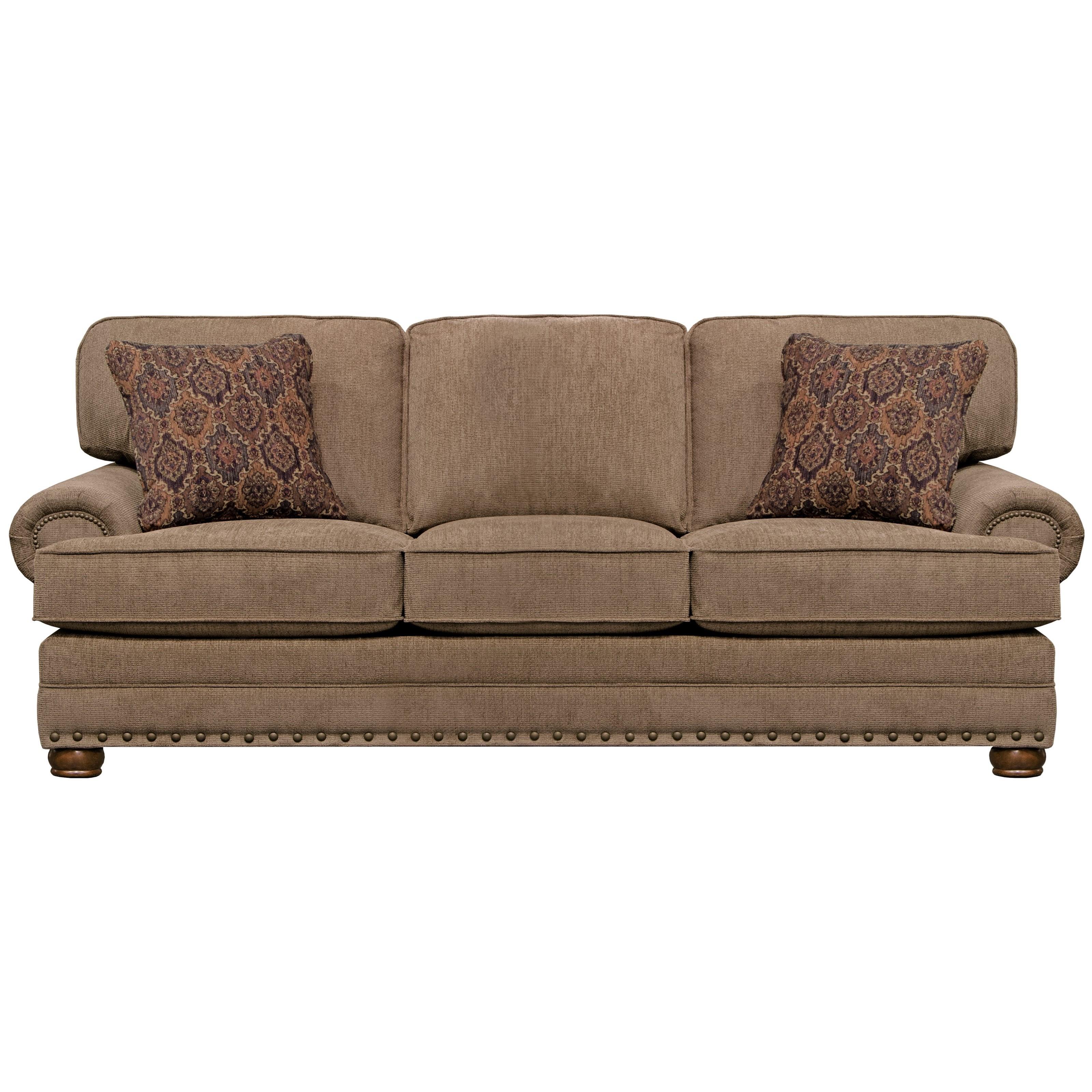 Singletary Sofa by Jackson Furniture at Zak's Home
