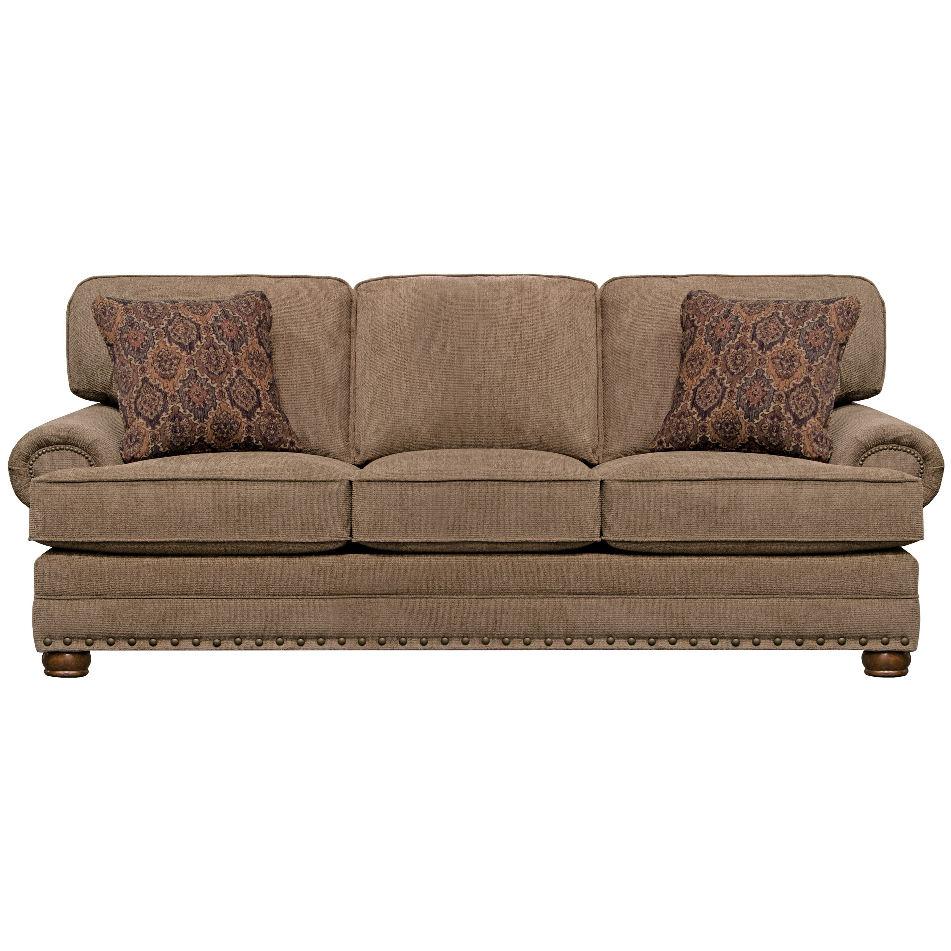 Singletary Queen Sleeper by Jackson Furniture at Zak's Home