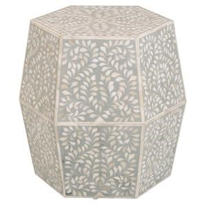 Puccini Hexagonal Pedestal Accent Table