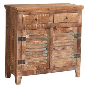 Jaipur Furniture Guru Guru 2 Door 2 Drawer Shutter Sideboard