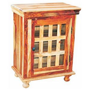 Jaipur Furniture Monsoon Glass End Table