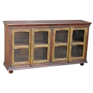 Jaipur Furniture Morya Old Door Sideboard with Glass