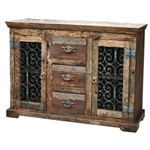 Jaipur Furniture Railroad Ties Steamer Sideboard