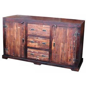 Jaipur Furniture Vintage 3-Drawer 2-Door Sideboard
