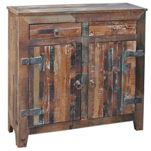 Jaipur Furniture Vintage 2-Door 2-Drawer Sideboard