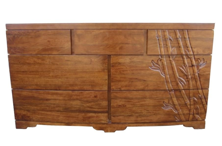 Foliage 7 Drawer Dresser by Jamieson Import Services, Inc. at HomeWorld Furniture