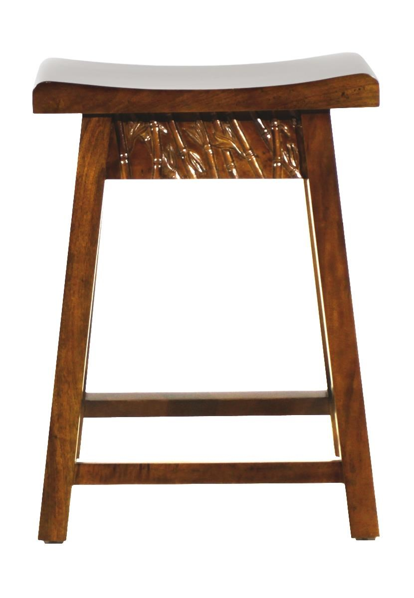 Foliage Counter Stool by Jamieson Import Services, Inc. at HomeWorld Furniture