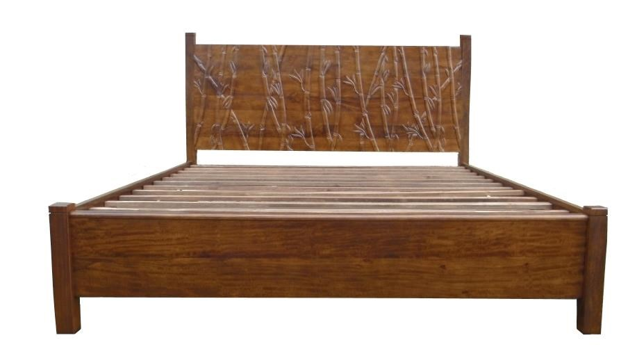 Foliage Queen Bed by Jamieson Import Services, Inc. at HomeWorld Furniture