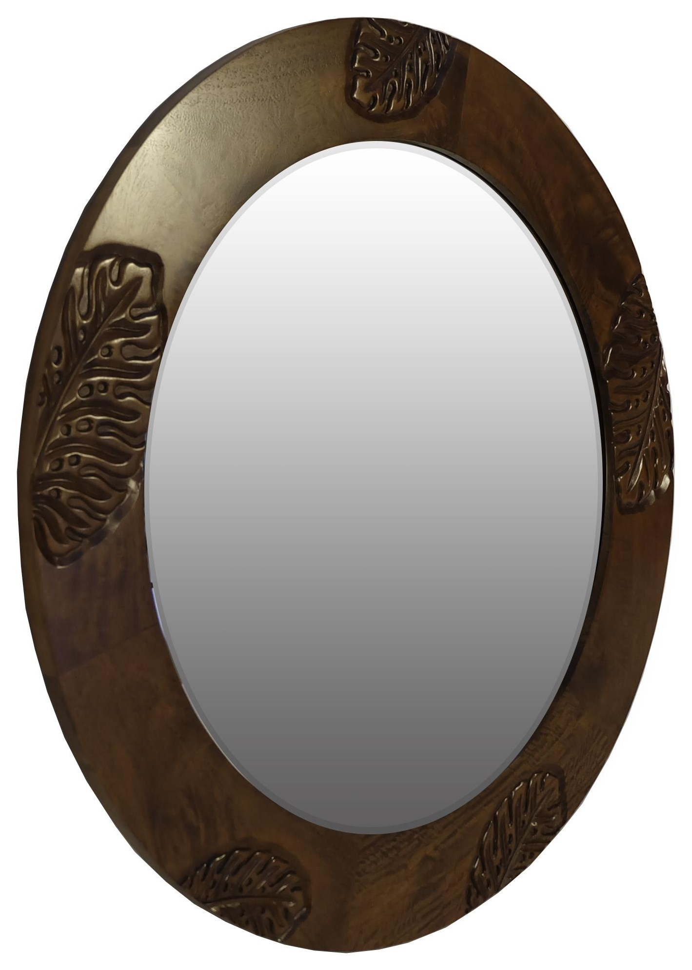 Monstera Mirror by Jamieson Import Services, Inc. at HomeWorld Furniture