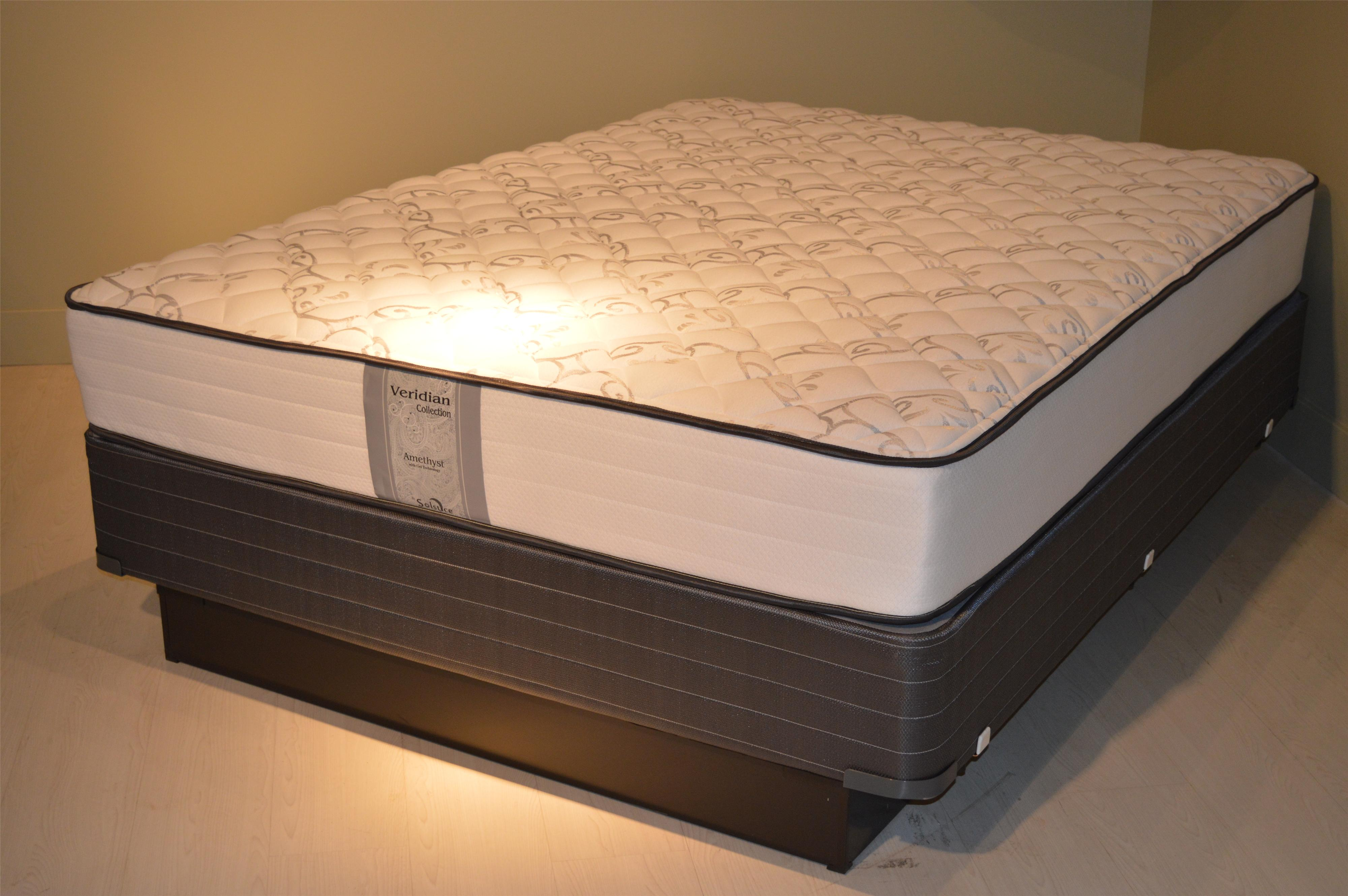 Amethyst Firm Amethyst Firm Mattress Set - CK by Solstice Sleep Products at Virginia Furniture Market