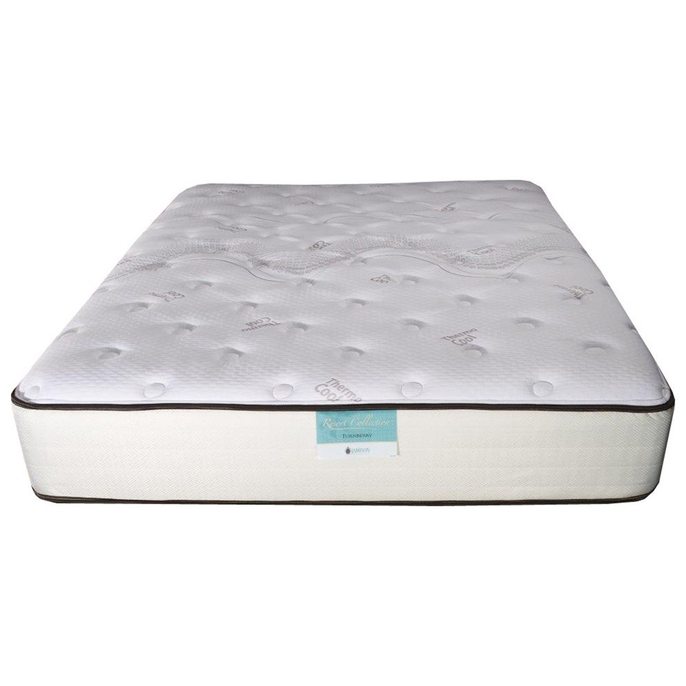 Marbella Plush Twin Two Sided Mattress by Jamison Bedding at Virginia Furniture Market