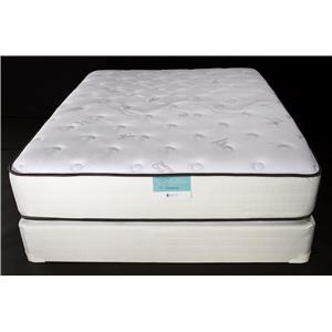 Jamison Bedding Resort Hotel Turnberry Cal King Two Sided Plush P.T. Mattress