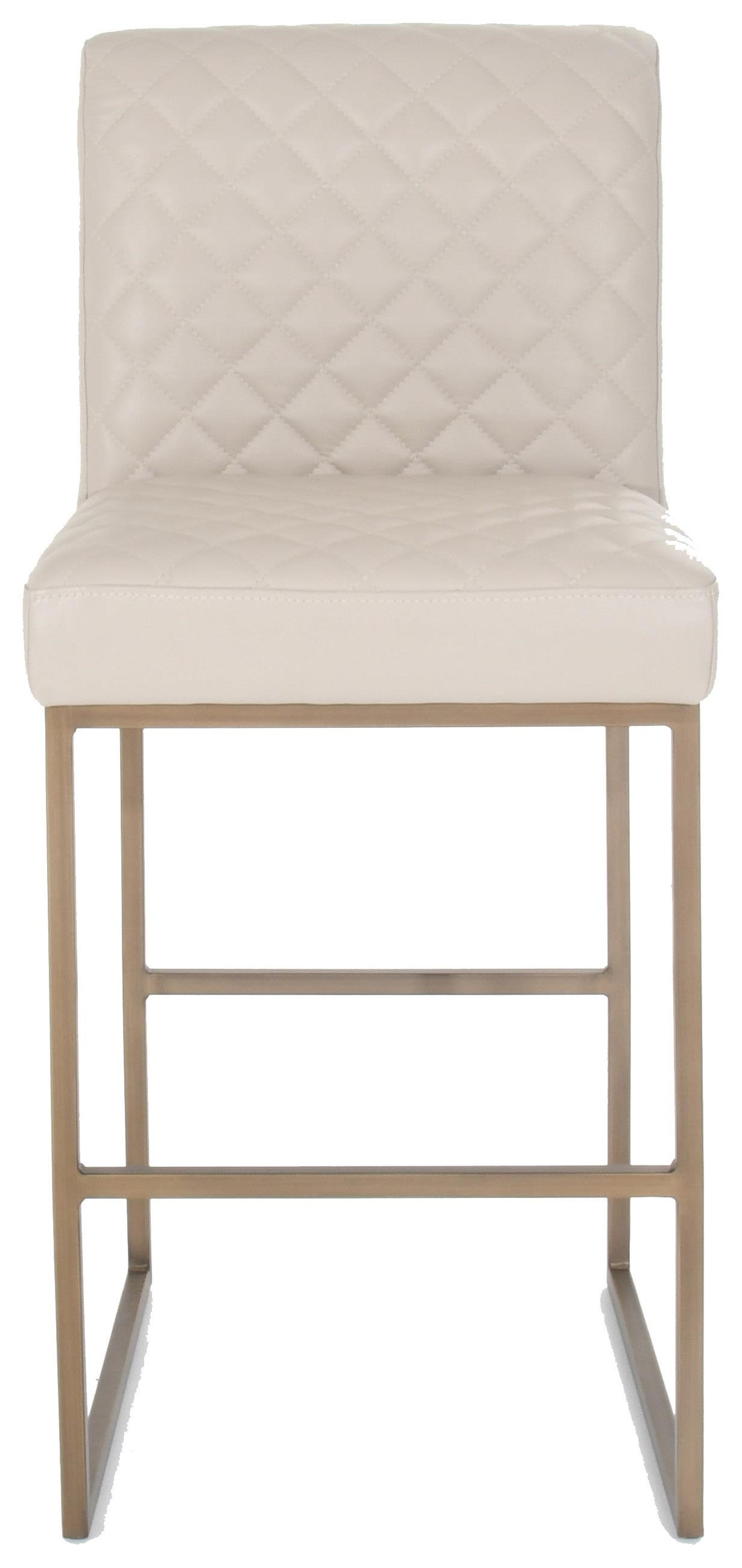 "Y1538 30"" Quilted Leather Bar Stool by Jason at Baer's Furniture"