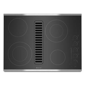 "Jenn-Air Cooktops - Electric 30"" Electric Radiant Downdraft Cooktop"
