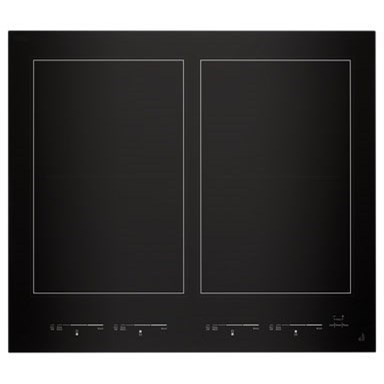 "Cooktops - Electric Glass 24"" Induction Flex Cooktop by Jenn-Air at Furniture and ApplianceMart"