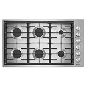 "36"" 6-Burner Gas Cooktop with Electronic Ignition and Flame-Sensing™ Re-ignition"