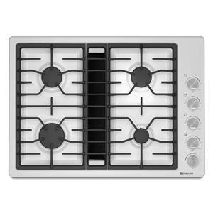 "30"" JX3™ Gas Downdraft Cooktop with DuraFinish™ Protection"