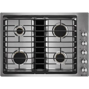 30? JX3? Gas Downdraft Cooktop with 17,000 BTU Ultra-High Output Burner