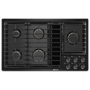 36? JX3? Gas Downdraft Cooktop with 17,000 BTU Ultra-High Output Burner