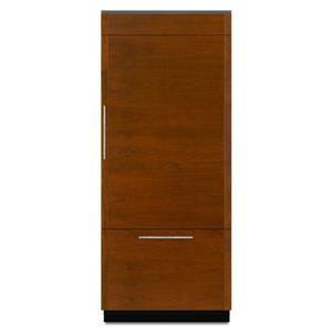 "ENERGY STAR® 36"" Fully Integrated Built-In Bottom-Freezer Refrigerator (Left-Hand Door Swing)"