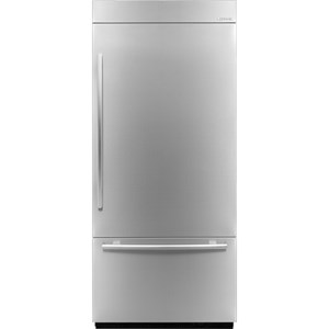 "ENERGY STAR® 36"" Fully Integrated Built-In Bottom-Freezer Refrigerator (Left-Hand Door Swing)"