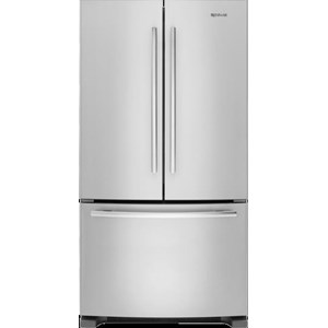 """69"""" Counter-Depth French Door Refrigerator with Internal Water/Ice Dispensers"""