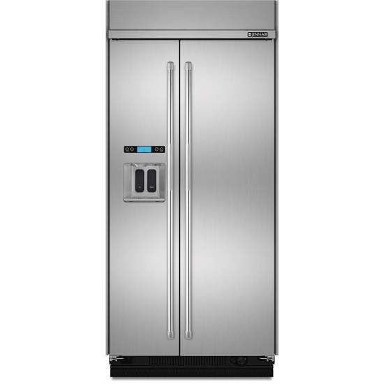 SideXSide Refrigerators 42-Inch Built-In Side-by-Side Refrigerator by Jenn-Air at Furniture and ApplianceMart