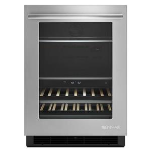 """Jenn-Air Special Compact Refrigeration 24"""" Under Counter Beverage Center"""