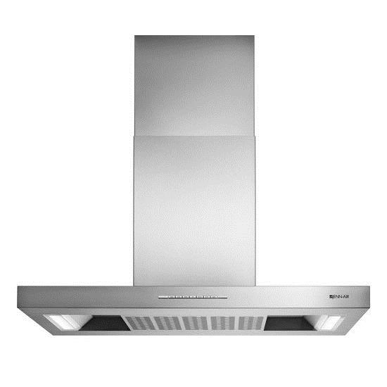 """Venting Hoods 42"""" Low Profile Canopy Island Hood by Jenn-Air at Furniture and ApplianceMart"""