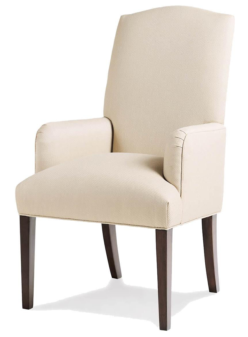 Fine Upholstered Accents Petra Arm Chair    by Jessica Charles at Sprintz Furniture