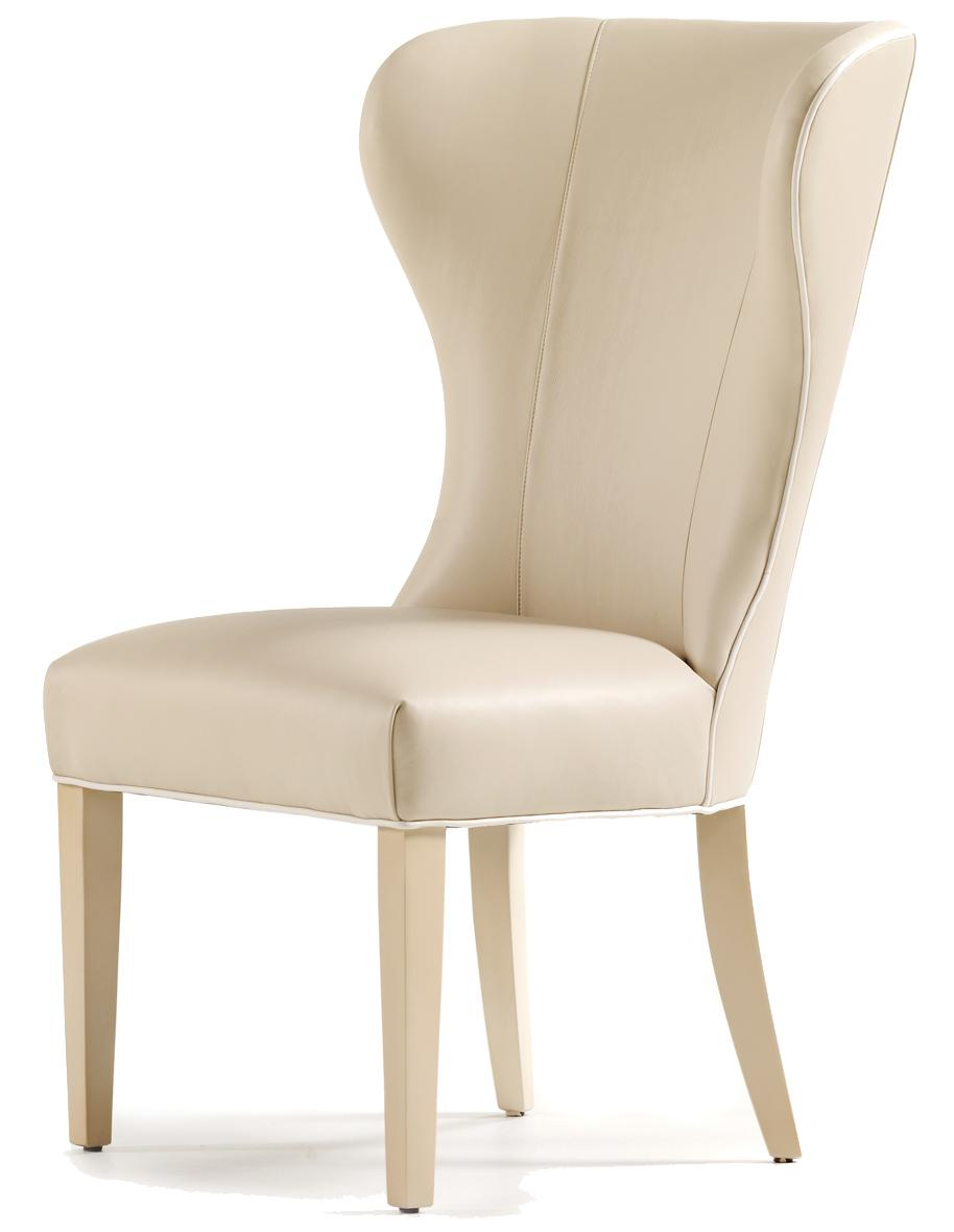 Fine Upholstered Accents Garbo Dining Side Chair    by Jessica Charles at Alison Craig Home Furnishings