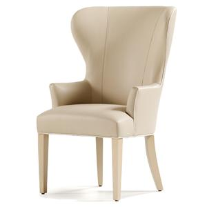 Jessica Charles Fine Upholstered Accents Garbo Dining Arm Chair
