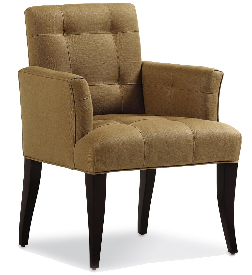 Fine Upholstered Accents Mann Arm Dining Chair    by Jessica Charles at Alison Craig Home Furnishings