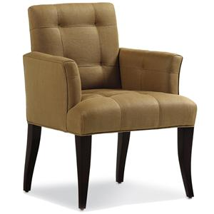 Jessica Charles Fine Upholstered Accents Mann Arm Dining Chair