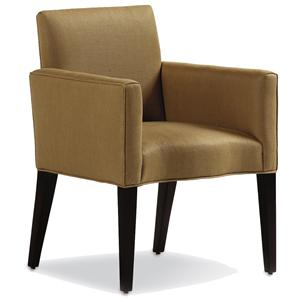 Jessica Charles Fine Upholstered Accents Marr Arm Dining Chair