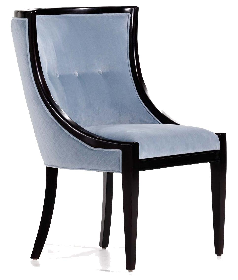 Fine Upholstered Accents Paloma Dining Chair    by Jessica Charles at Alison Craig Home Furnishings