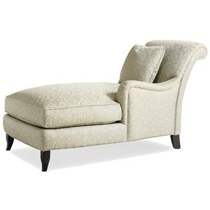 Jessica Charles Fine Upholstered Accents Braxton Right Arm Facing Chaise