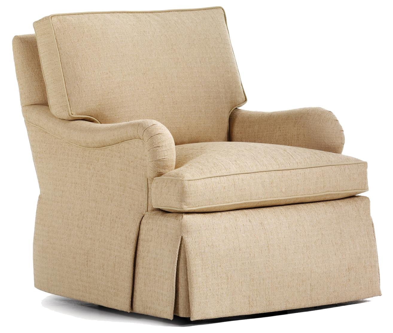 Fine Upholstered Accents Oliver Swivel Rocker    by Jessica Charles at Alison Craig Home Furnishings