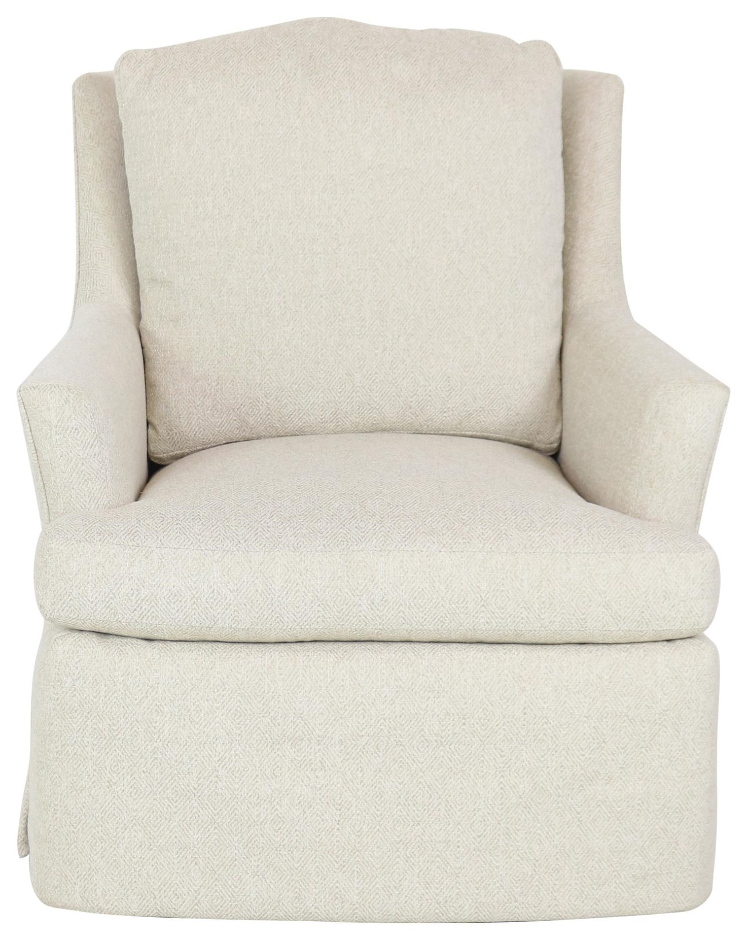 Fine Upholstered Accents Swivel Rocker Chair by Jessica Charles at Sprintz Furniture