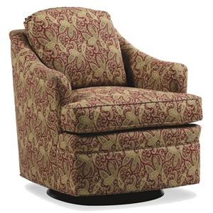 Jessica Charles Fine Upholstered Accents Damon Swivel Glider
