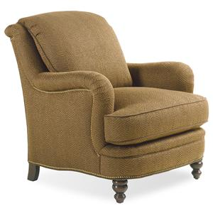 Jessica Charles Fine Upholstered Accents Placid Lounge Chair