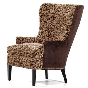 Jessica Charles Fine Upholstered Accents Chilton Wing Chair